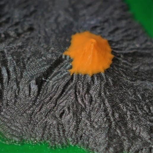 CLOSE.jpg Download free STL file Popocatepetl • Model to 3D print, benwax10