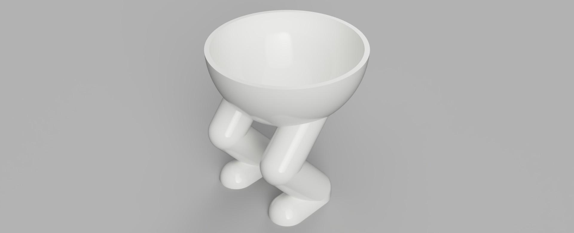 Planter_3_2018-Aug-31_10-28-38PM-000_CustomizedView5151853315_jpg.jpg Download free STL file Squatting Planter • 3D printable object, benwax10