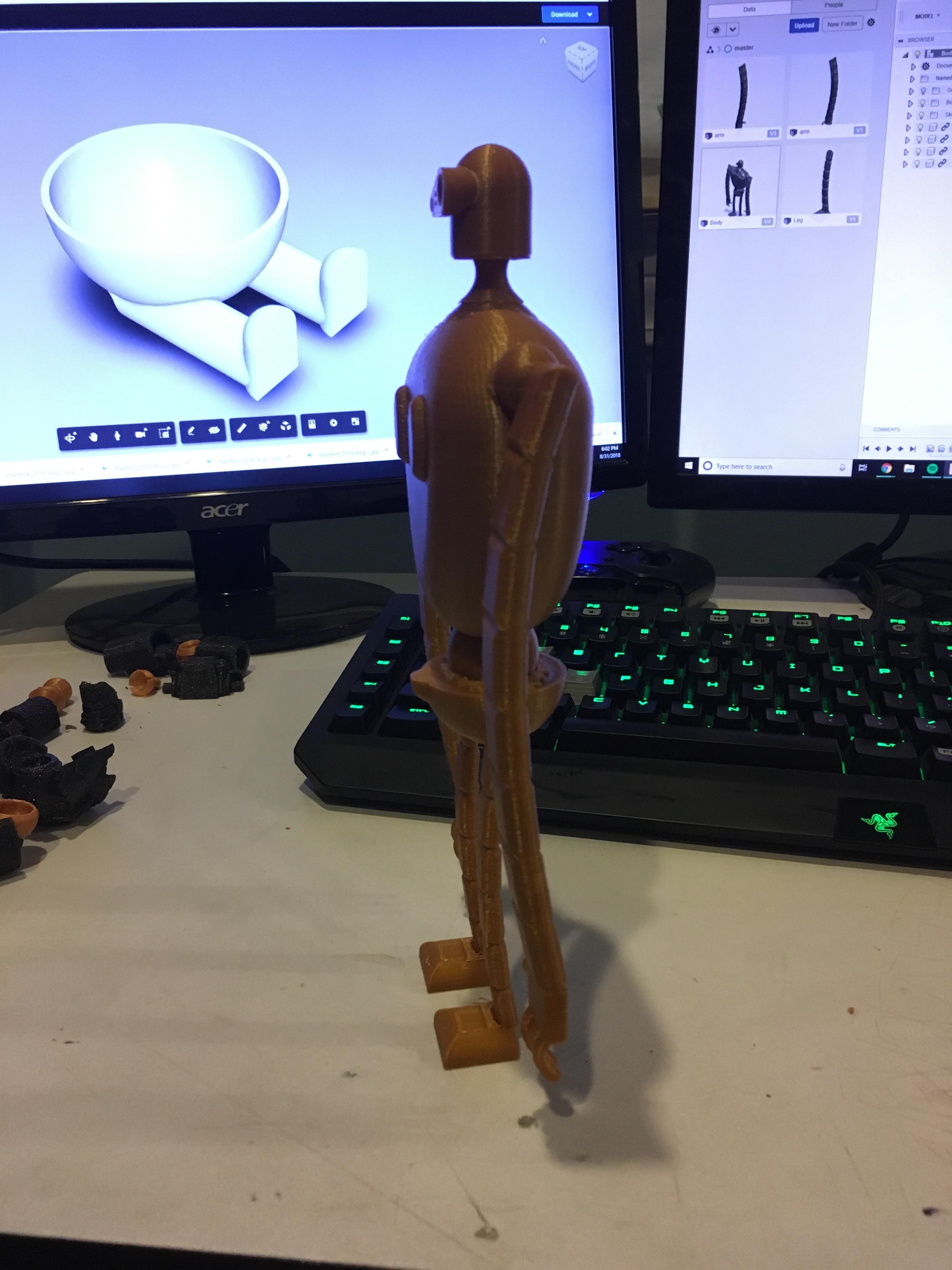 Buddy3.jpg Download STL file Stone Golem • 3D printable template, benwax10