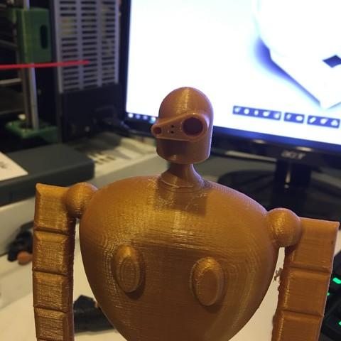 Buddy2.jpg Download STL file Stone Golem • 3D printable template, benwax10