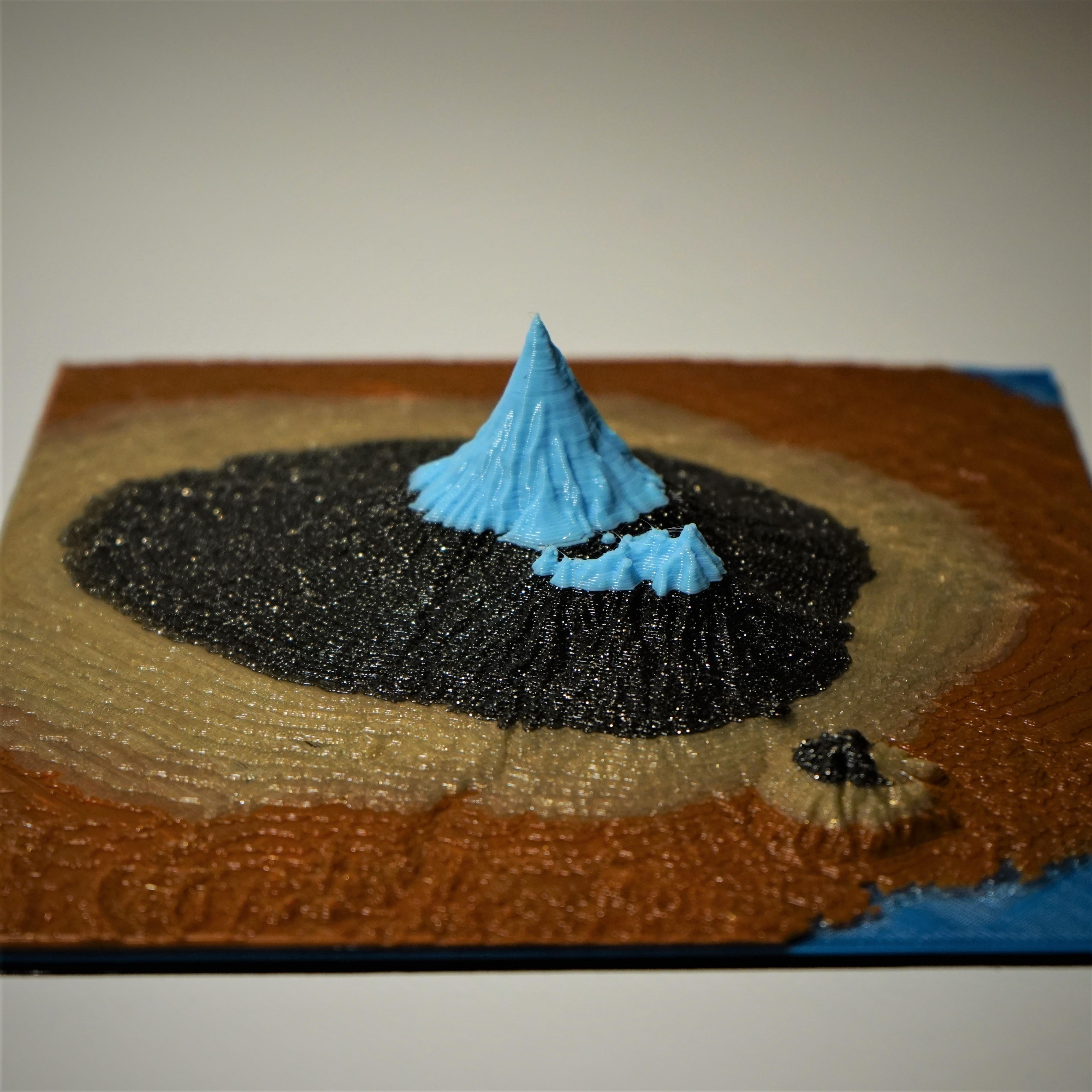 DSC06485 (2).JPG Download free STL file Mount Taranaki • Template to 3D print, benwax10