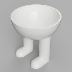 Download 3D printing models Classic Legged Planter, benwax10