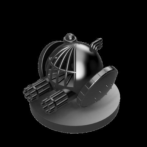 Scythe Roller Mech v4.png Download STL file Scythe Roller Mech • 3D printable template, benwax10