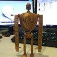Buddy1.jpg Download STL file Stone Golem • 3D printable template, benwax10
