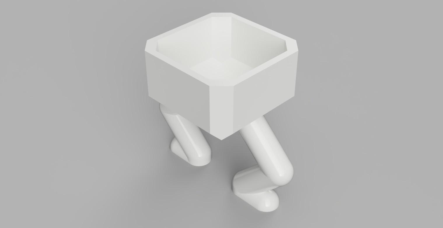 Planter4_2018-Aug-31_10-27-29PM-000_CustomizedView14273653777_jpg.jpg Download free STL file Square Squatting Planter • 3D print object, benwax10