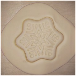 IMG_20200526_223913.jpg Download free STL file Dough cutter - Snowflake (Cutter cookie) • 3D print object, pablocorezzola