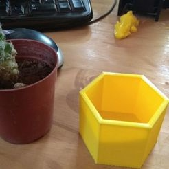 Download free 3D printing designs mini flowerpot, pablocorezzola