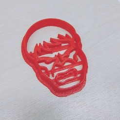Download 3D print files cookie cutter (Pack x2) - Hulk, pablocorezzola