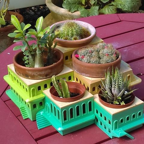 Free 3D printer designs CactusHotel, mtsodaro