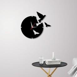 Download 3D print files Decorative Wall Clock C1, 3dprintlines