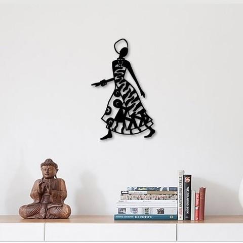 Download 3D printer designs African woman wall art, 3dprintlines