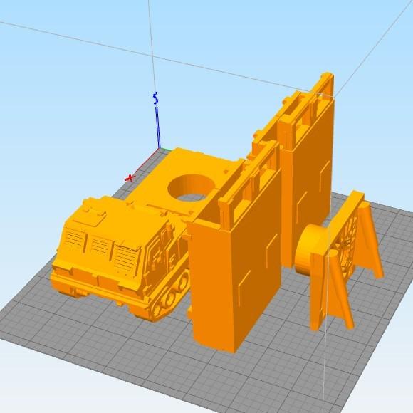 Untitled-1.jpg Download STL file Missiles Launcher Pen & Pencil holder • Design to 3D print, 3dprintlines