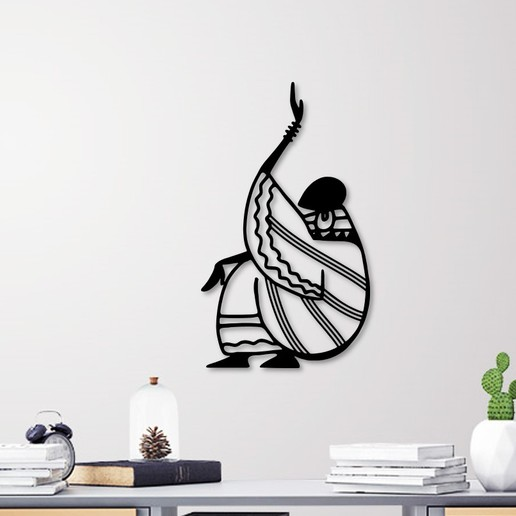 Download STL files African Woman wall art, 3dprintlines