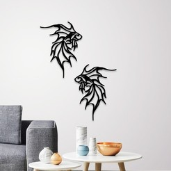 Download 3D printing files Fish wall decoration , 3dprintlines