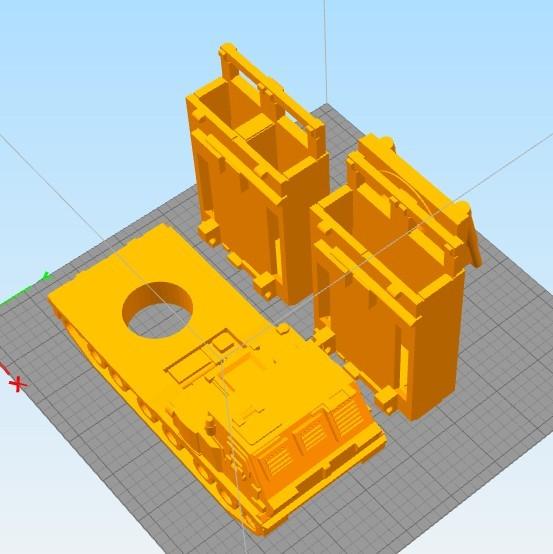 Untitled-3.jpg Download STL file Missiles Launcher Pen & Pencil holder • Design to 3D print, 3dprintlines