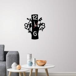 Télécharger modèle 3D Horloge murale décorative C5, 3dprintlines
