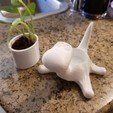 Download STL file Dinosaur plant pot, 3dprintlines