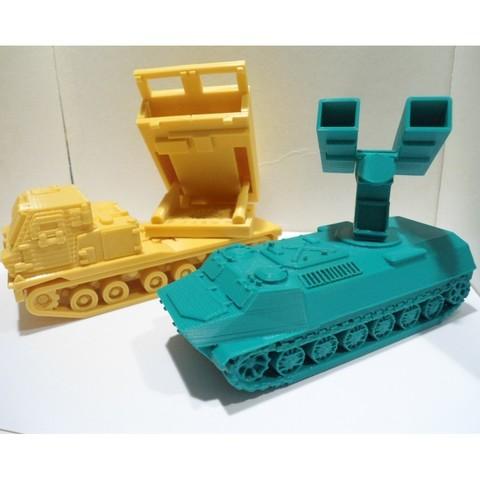 DSC01324.JPG Download STL file Missiles Launcher Pen & Pencil holder • Design to 3D print, 3dprintlines