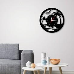 STL files Decorative Wall Clock C3, 3dprintlines