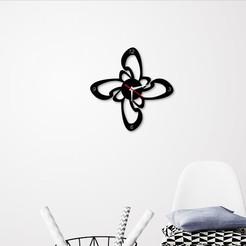 Télécharger plan imprimante 3D Horloge murale décorative C6, 3dprintlines