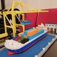 Untitled-3 copy.jpg Download STL file Container Port scale model ( maquette ) • Model to 3D print, 3dprintlines