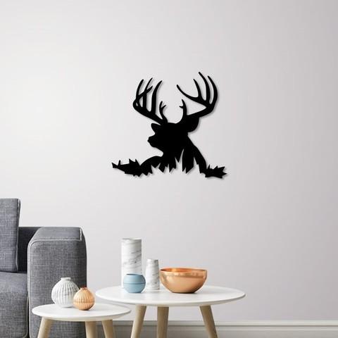 Download 3D model Deer Silhouette for wall art, 3dprintlines