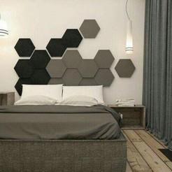 Download STL files Decorative Wall Shapes Patterns ( 3 shapes ) , 3dprintlines