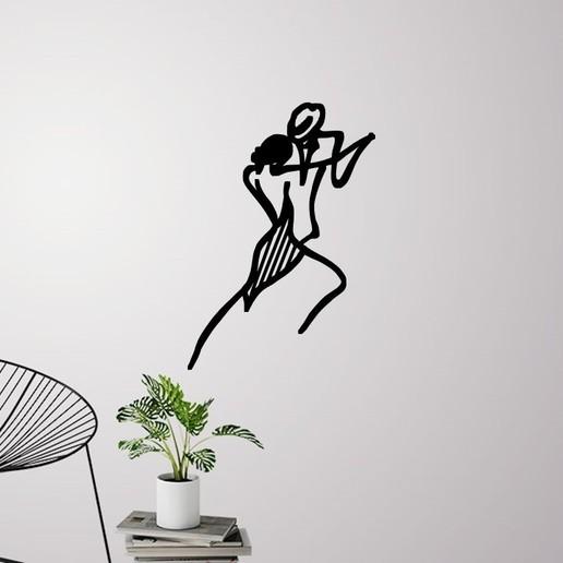 Descargar archivo 3D Decoración de la pared de baile de graduación, 3dprintlines