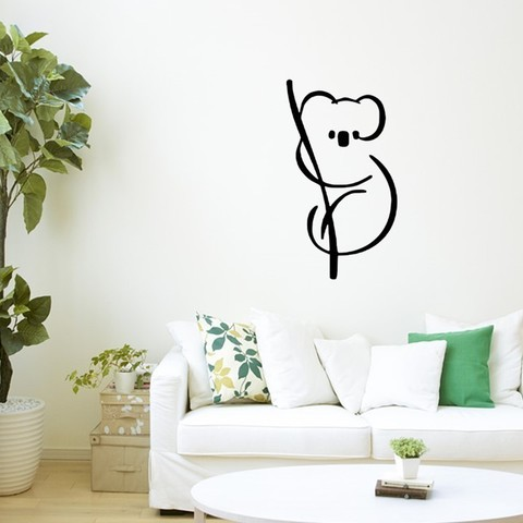 Download 3D printer templates Koala bear for wall decoration , 3dprintlines