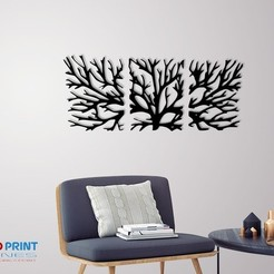 Download 3D printing files WALL TREE BRANCHES , 3dprintlines