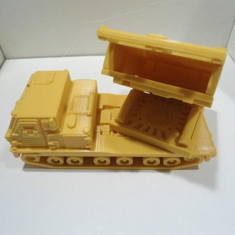 DSC01251.JPG Download STL file Missiles Launcher Pen & Pencil holder • Design to 3D print, 3dprintlines
