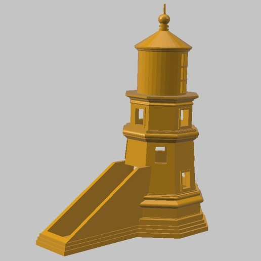 Descargar STL Tarjetero para tarjetas de visita Lighthouse, 3dprintlines