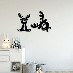 Demo.jpg Télécharger fichier STL Décoration murale de la chambre des enfants • Plan pour impression 3D, 3dprintlines