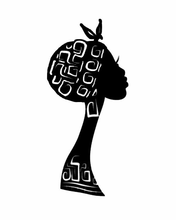 African lady.jpg Download STL file African Lady wall art • 3D printer model, 3dprintlines