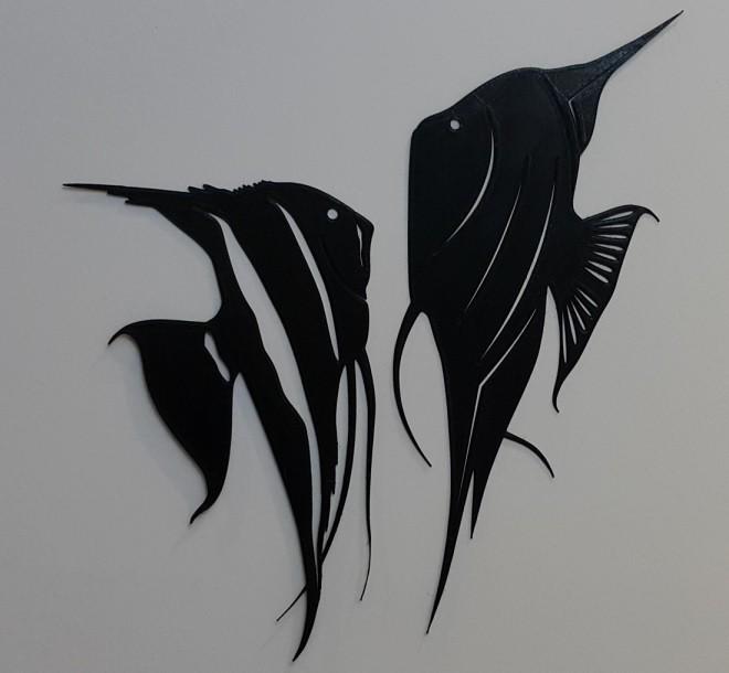 11.jpg Download STL file Angel fish wall art \ Decor • 3D printing object, 3dprintlines