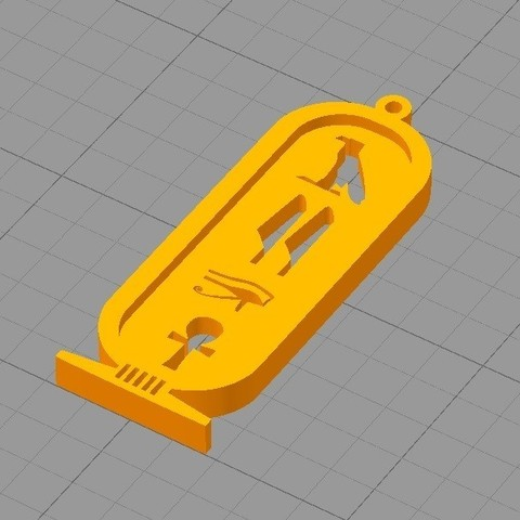 44.jpg Télécharger fichier STL gratuit ANCIEN PORTE-CLÉS ÉGYPTIEN • Objet à imprimer en 3D, 3dprintlines