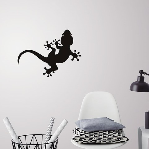 Download 3D printing designs Lizard for wall decoration, 3dprintlines
