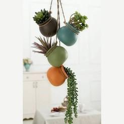 Télécharger objet 3D Pot à plantes, 3dprintlines