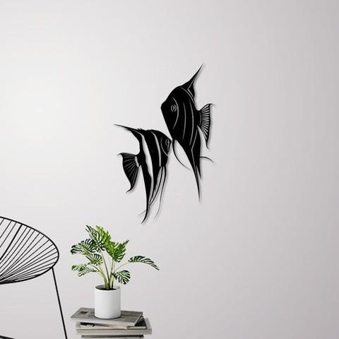 1.jpg Download STL file Angel fish wall art \ Decor • 3D printing object, 3dprintlines