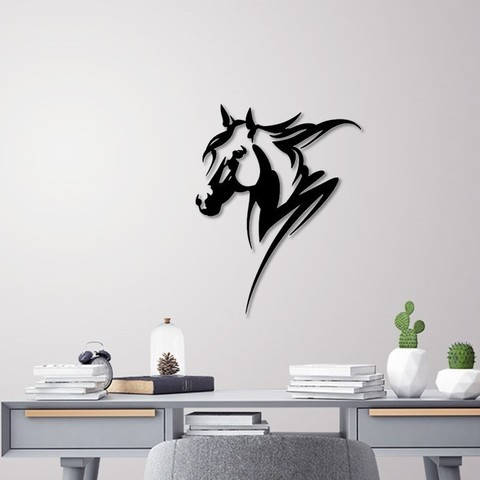 Download STL Horse head wall decoration, 3dprintlines
