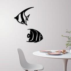 demo.jpg Télécharger fichier STL décoration murale sur les poissons marins • Plan à imprimer en 3D, 3dprintlines