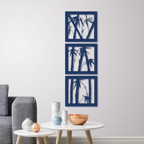3D printing model Bamboo wall decoration ( set of 3 frames ), 3dprintlines