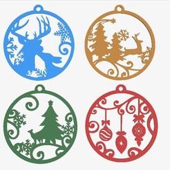 Télécharger fichier impression 3D décoration de l'arbre de Noël, 3dprintlines