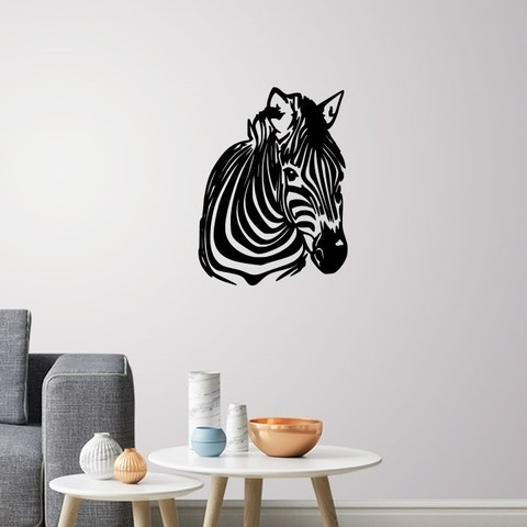 Download 3D model ZEBRA WALL DECORATION, 3dprintlines