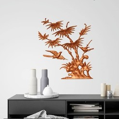 Download 3D printer templates NATURAL VIEW WALL ART, 3dprintlines