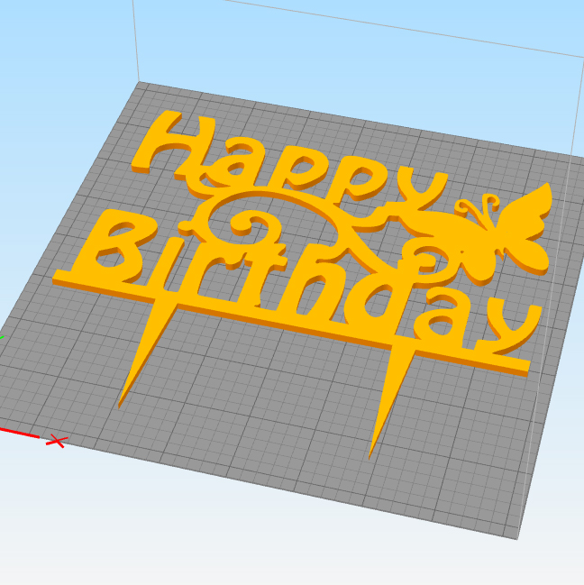 Untitled-2 copy.jpg Download STL file Birthday cake topper ( set of 3 ) • Template to 3D print, 3dprintlines