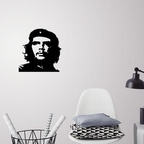 Download 3D model Che Guevara silhouette wall art, 3dprintlines