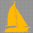 Sailing_boat_5_4.png Download STL file SAILING BOAT FOR WALL DECORATION_5 • 3D printable design, 3dprintlines
