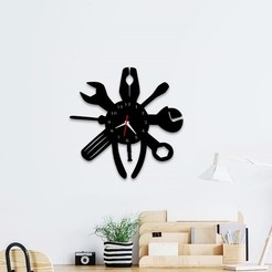 Download 3D printing files Decorative Wall Clock C7, 3dprintlines