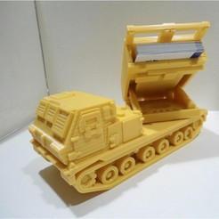 3D printer models Missiles Launcher Business Card Holder , 3dprintlines